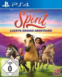 Hier klicken, um das Cover von Spirit Luckys gross~es Abenteuer (Ps4) zu vergrößern