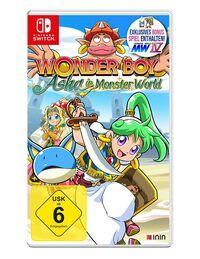 Hier klicken, um das Cover von Wonder Boy: Asha in Monster World (Switch) zu vergrößern