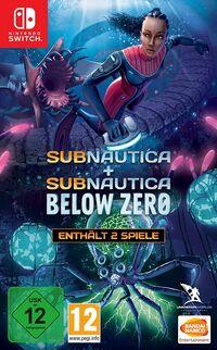 Hier klicken, um das Cover von Subnautica + Subnautica: Below Zero (Switch) zu vergrößern