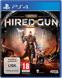 Hier klicken, um das Cover von Necromunda: Hired Gun (PS4) zu vergrößern