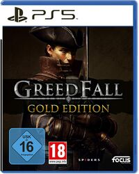 Hier klicken, um das Cover von Greedfall Gold Edition (PS5) zu vergrößern