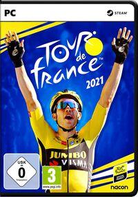 Hier klicken, um das Cover von Tour de France 2021 (PC) zu vergrößern
