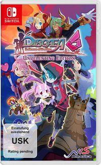 Hier klicken, um das Cover von Disgaea 6: Defiance of Destiny Unrelenting Edition (Switch) zu vergrößern