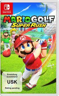 Hier klicken, um das Cover von Mario Golf: Super Rush (Switch) zu vergrößern
