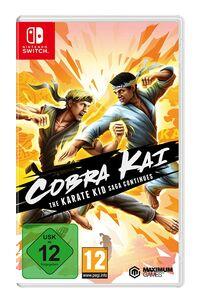 Hier klicken, um das Cover von Cobra Kai: The Karate Kid Saga Continues (Switch) zu vergrößern