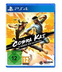 Hier klicken, um das Cover von Cobra Kai: The Karate Kid Saga Continues (PS4) zu vergrößern