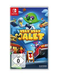 Hier klicken, um das Cover von Very Very Valet (Switch) zu vergrößern