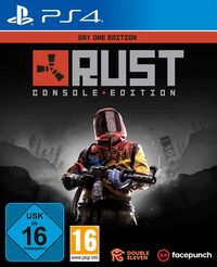 Hier klicken, um das Cover von Rust Day One Edition (PS4) zu vergrößern