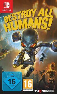 Hier klicken, um das Cover von Destroy all Humans! Standard Edition (Switch) zu vergrößern