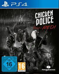 Hier klicken, um das Cover von Chicken Police: Paint it Red! (PS4) zu vergrößern