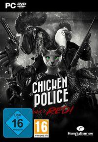 Hier klicken, um das Cover von Chicken Police: Paint it Red! (PC) zu vergrößern