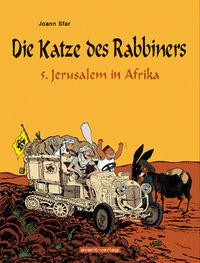 Hier klicken, um das Cover von Die Katze des Rabbiners 5 zu vergrößern