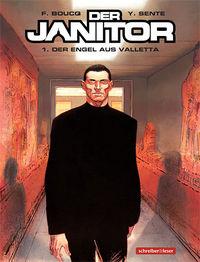 Hier klicken, um das Cover von Der Janitor 1: Der Engel aus Valletta zu vergrößern