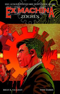 Hier klicken, um das Cover von Ex Machina 2: Zeichen zu vergrößern