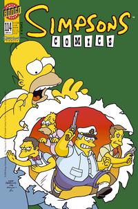 Hier klicken, um das Cover von Simpsons 114 zu vergrößern