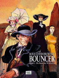Hier klicken, um das Cover von Bouncer 5: Die Beute der Woe~lfinnen zu vergrößern
