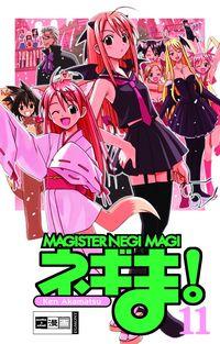 Hier klicken, um das Cover von Magister Negi Magi 11 zu vergrößern