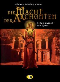 Hier klicken, um das Cover von Die Macht der Archonten 2: Der Palast der Djinn zu vergrößern