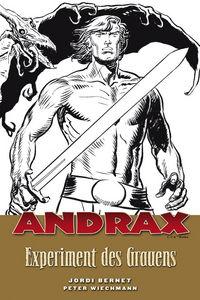 Hier klicken, um das Cover von Andrax 1: Experiment des Grauens zu vergrößern