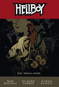 Hier klicken, um das Cover von Hellboy 8: Die Troll-Hexe zu vergrößern