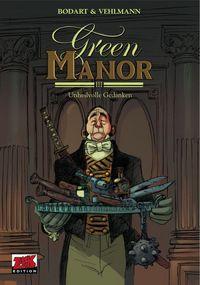 Hier klicken, um das Cover von Green Manor 3: Unheilvolle Gedanken zu vergrößern