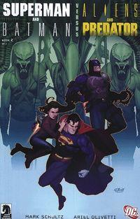 Hier klicken, um das Cover von DC Premium 52: Superman/Batman vs. Aliens/Predator zu vergrößern