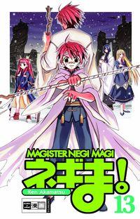 Hier klicken, um das Cover von Magister Negi Magi 13 zu vergrößern