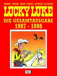 Hier klicken, um das Cover von Lucky Luke - Die Gesamtausgabe 23: 1997-1998 zu vergrößern