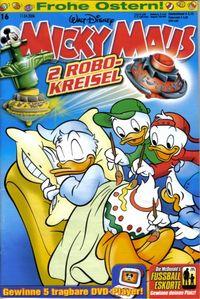 Hier klicken, um das Cover von Micky Maus 16/2006 zu vergrößern