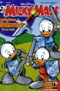 Hier klicken, um das Cover von Micky Maus 17/2006 zu vergrößern
