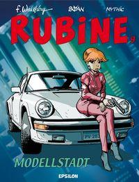 Hier klicken, um das Cover von Rubine 9: Modelstadt zu vergrößern