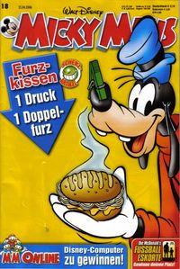 Hier klicken, um das Cover von Micky Maus 18/2006 zu vergrößern