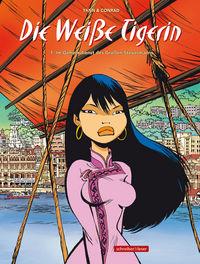 Hier klicken, um das Cover von Die Weiss~e Tigerin 1: Im Geheimdienst des Gross~en Steuermanns zu vergrößern