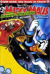 Hier klicken, um das Cover von Micky Maus 20/2006 zu vergrößern
