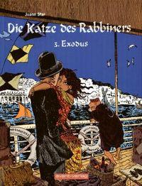 Hier klicken, um das Cover von Die Katze des Rabbiners 3: Exodus zu vergrößern