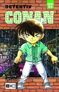 Hier klicken, um das Cover von Detektiv Conan 55 zu vergrößern