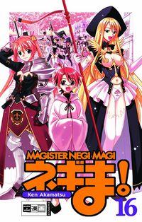 Hier klicken, um das Cover von Magister Negi Magi 16 zu vergrößern
