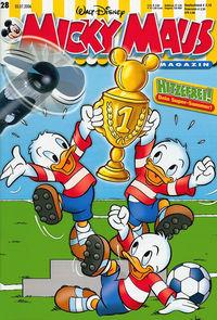 Hier klicken, um das Cover von Micky Maus 28/2006 zu vergrößern