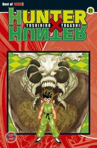 Hier klicken, um das Cover von Hunter X Hunter 21 zu vergrößern