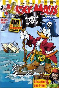 Hier klicken, um das Cover von Micky Maus 31/2006 zu vergrößern