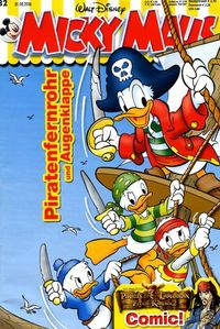 Hier klicken, um das Cover von Micky Maus 32/2006 zu vergrößern