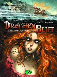 Hier klicken, um das Cover von Drachenblut 2: Der Stein der Ga�ldenn zu vergrößern