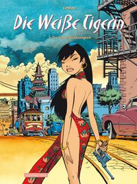 Hier klicken, um das Cover von Die weiss~e Tigerin 3: Die fue~nfte Glue~ckseligkeit zu vergrößern