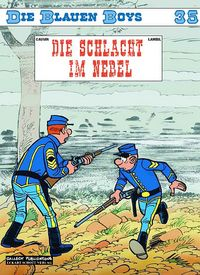 Hier klicken, um das Cover von Die blauen Boys 35: Die Schlacht im Nebel zu vergrößern