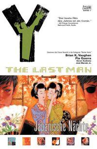 Hier klicken, um das Cover von Y - The Last Man 8: Japanische Nae~chte zu vergrößern
