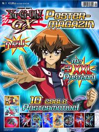 Hier klicken, um das Cover von Yu-Gi-Oh! GX Postermagazin zu vergrößern