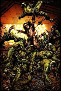 Hier klicken, um das Cover von Marvel Paperback 10: Wolverine: Waffe X zu vergrößern