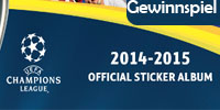 Champions League 2014-2015 Official Sticker Collection