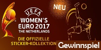 Panini UEFA WOMEN´S EURO 2017? Official Sticker Collection