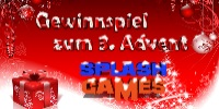 Das große SplashGames-Adventsgewinnspiel zum 3. Advent